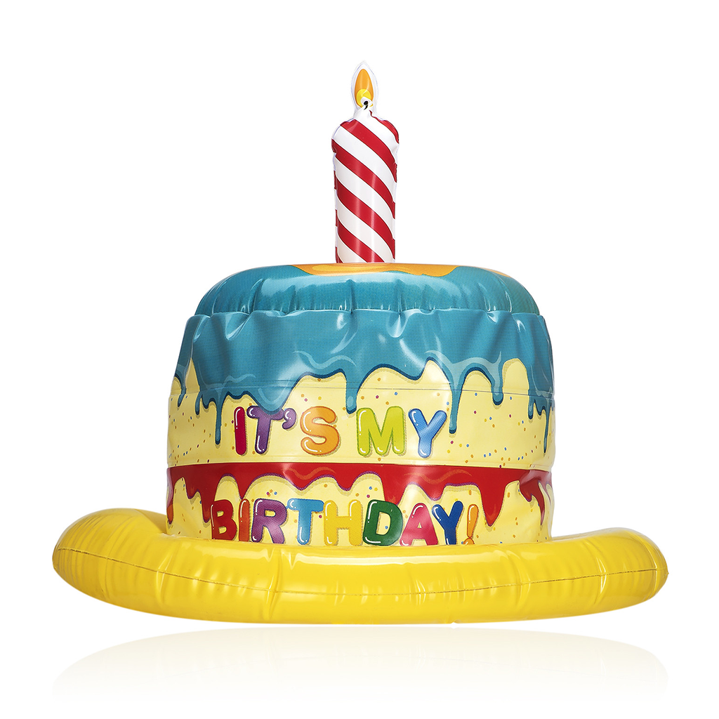 Marvelous Inflatable Birthday Hat Kids Monoyono Hk Personalised Birthday Cards Bromeletsinfo