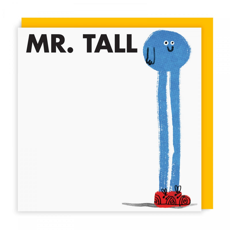 Mr Men Cards | Mr Tall