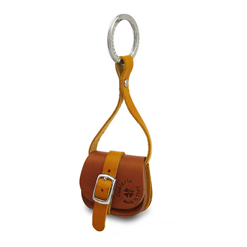Cow Leather Key Ring | Light Brown | 正價 (4794046316618)