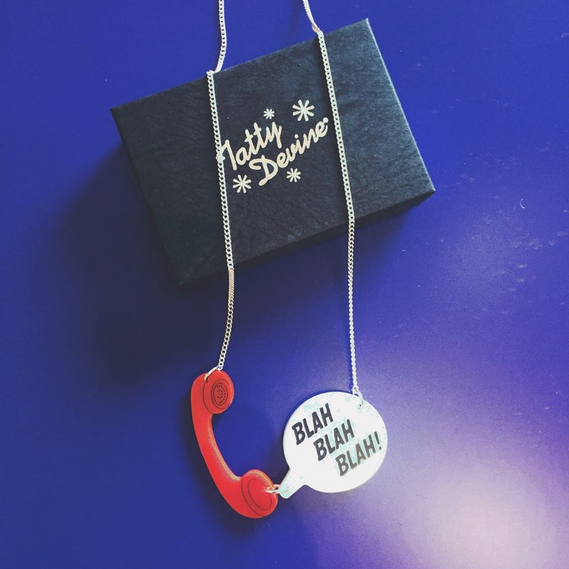 Phone Call Necklace