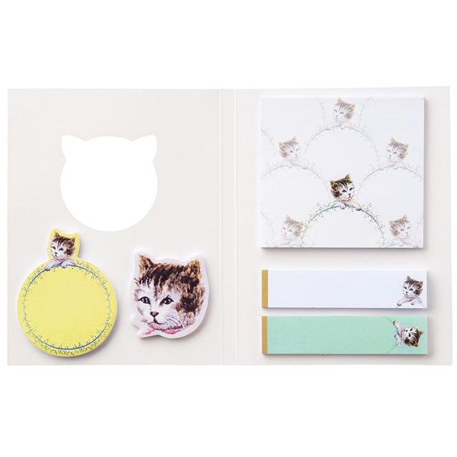 Sticky notes set - Neko