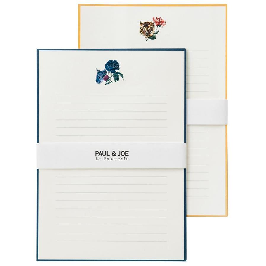 Letter set - Wild Cats & Flowers