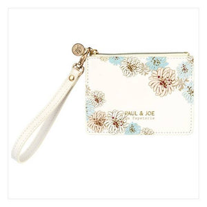 Pass Case - Chrysanthemum | White