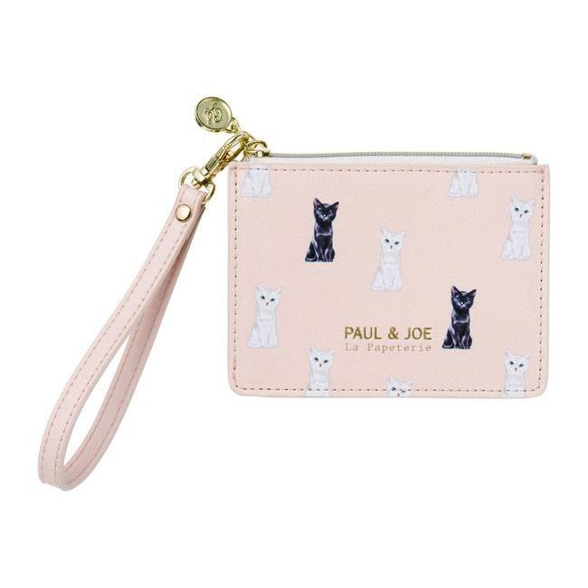Pass Case - Chess Cat Apricot | Pink (1692484370466)
