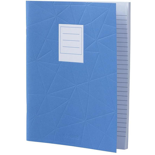 Lined Jotter Notebook Large | Blue (197178425355)