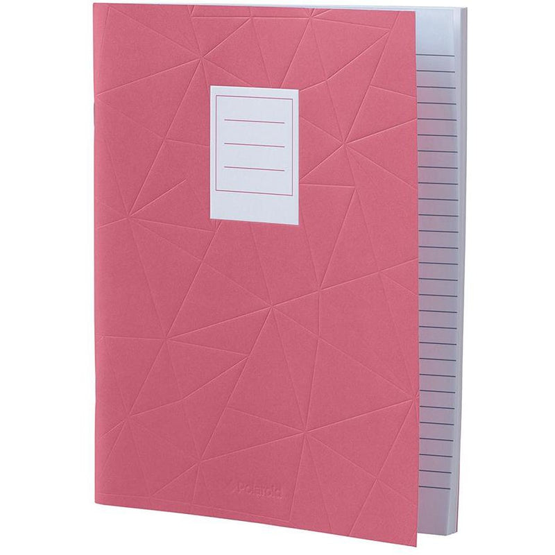 Lined Jotter Notebook Large | Pink (197178359819)