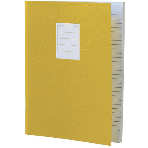 Lined Jotter Notebook Large | Yellow (197178327051)