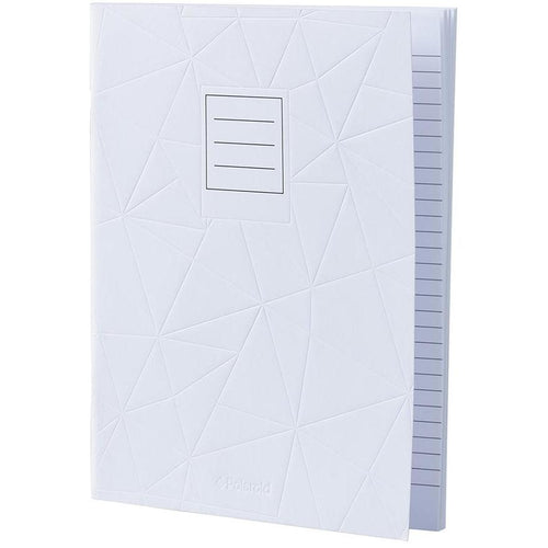 Lined Jotter Notebook Large | White (197178195979)