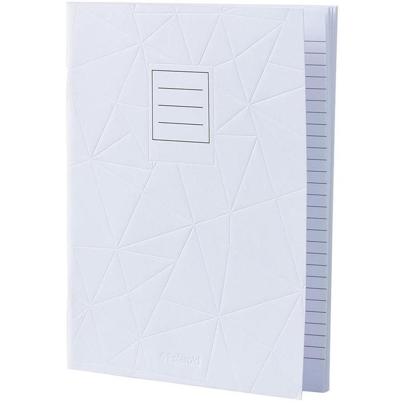 Lined Jotter Notebook Large | White