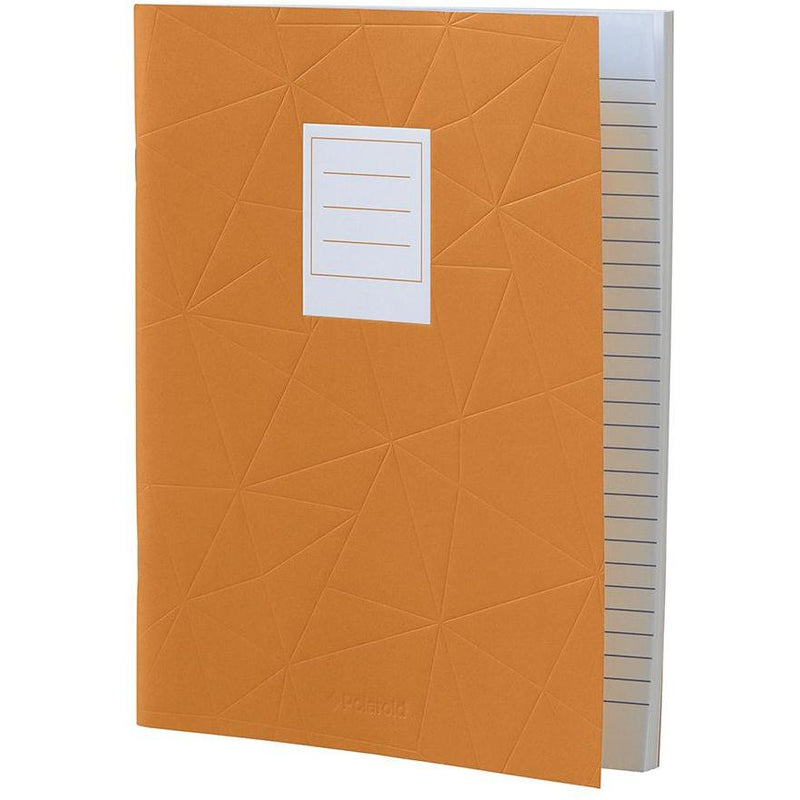 Lined Jotter Notebook Large | Orange (197178163211)