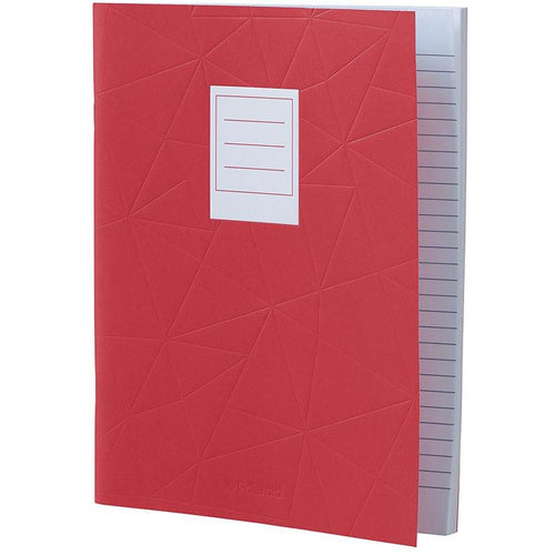 Lined Jotter Notebook Large | Red (197178130443)
