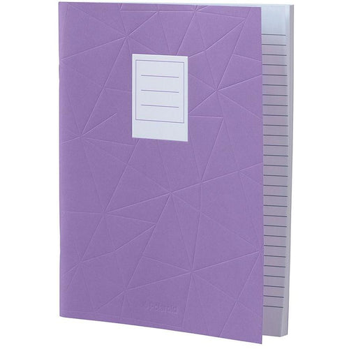 Lined Jotter Notebook Large | Purple (197178097675)