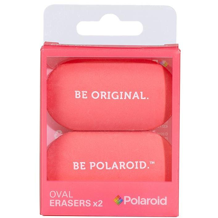 Oval Erasers Set of 2 - Pink