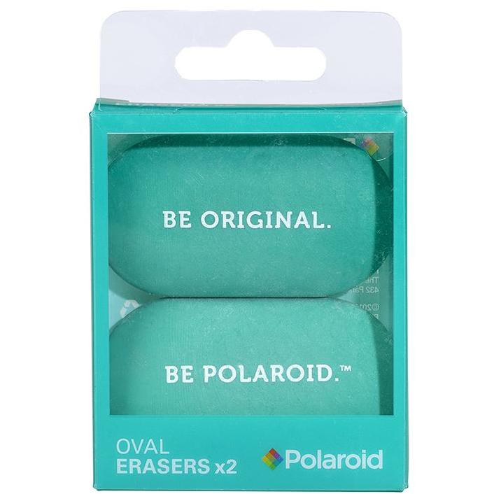 Oval Erasers set of 2 - Turquoise