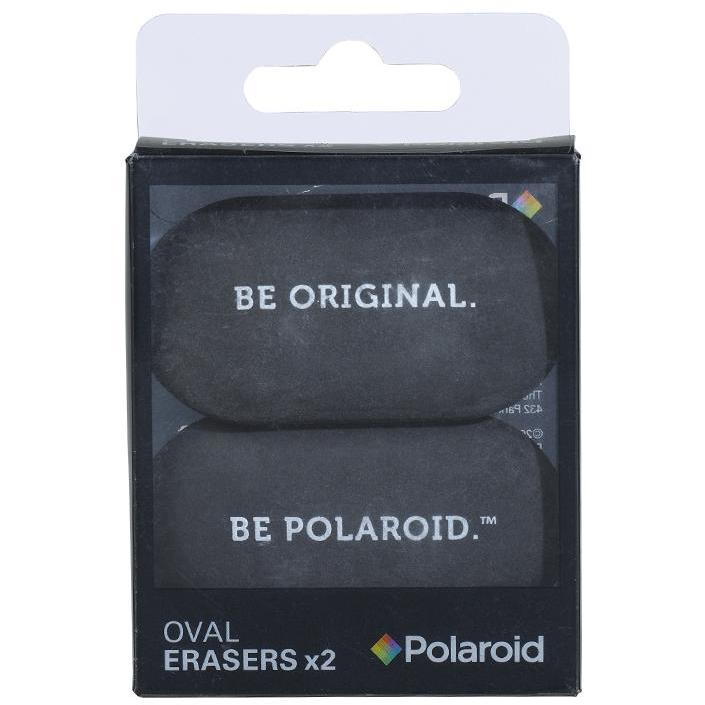 Oval Erasers set of 2 - Black (197177049099)
