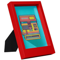 Desk Frame 5x7 - Red
