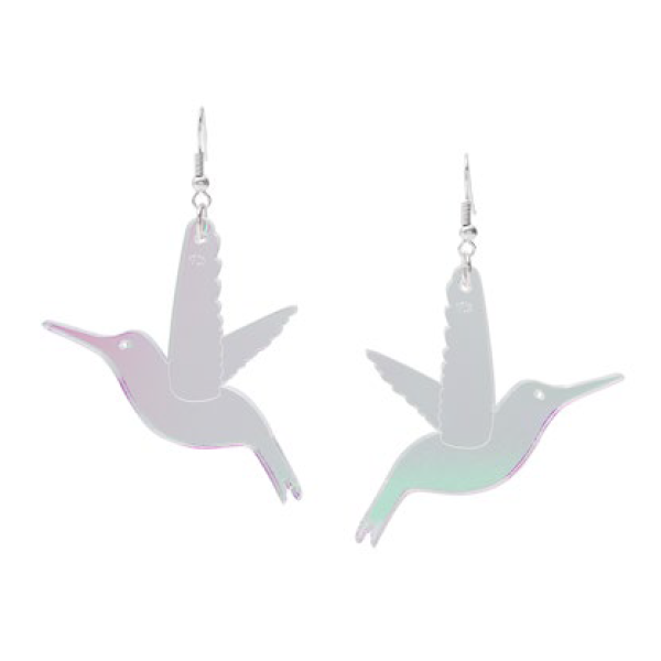 Hummingbird Earrings (593840734242)