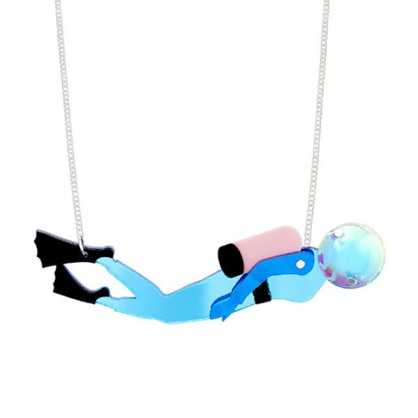Diver Necklace (593836474402)