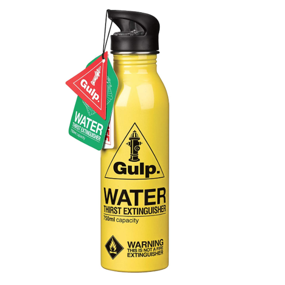 **NEW** Water Bottle Thirst Extinguisher | Yellow and Black | 正價