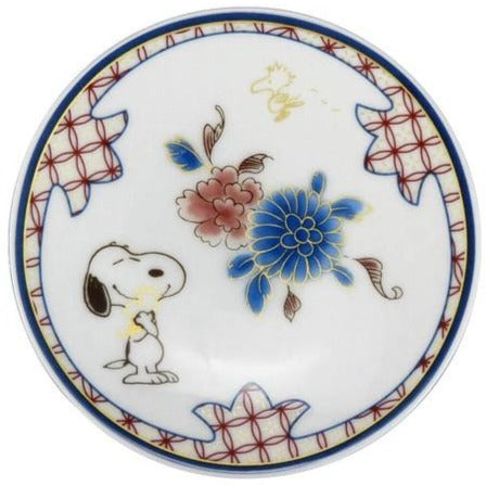 Snoopy | Tableware | Small Plate | Flower