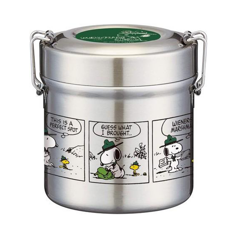 Snoopy | Vacuum Stainless Lunch Box | 正價