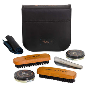 Shoe Shine Kit | Black Brogue
