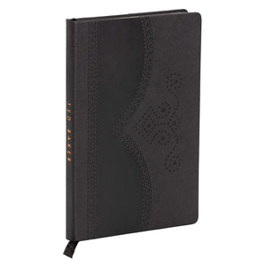 A5 Notebook | Textured Black Brogue