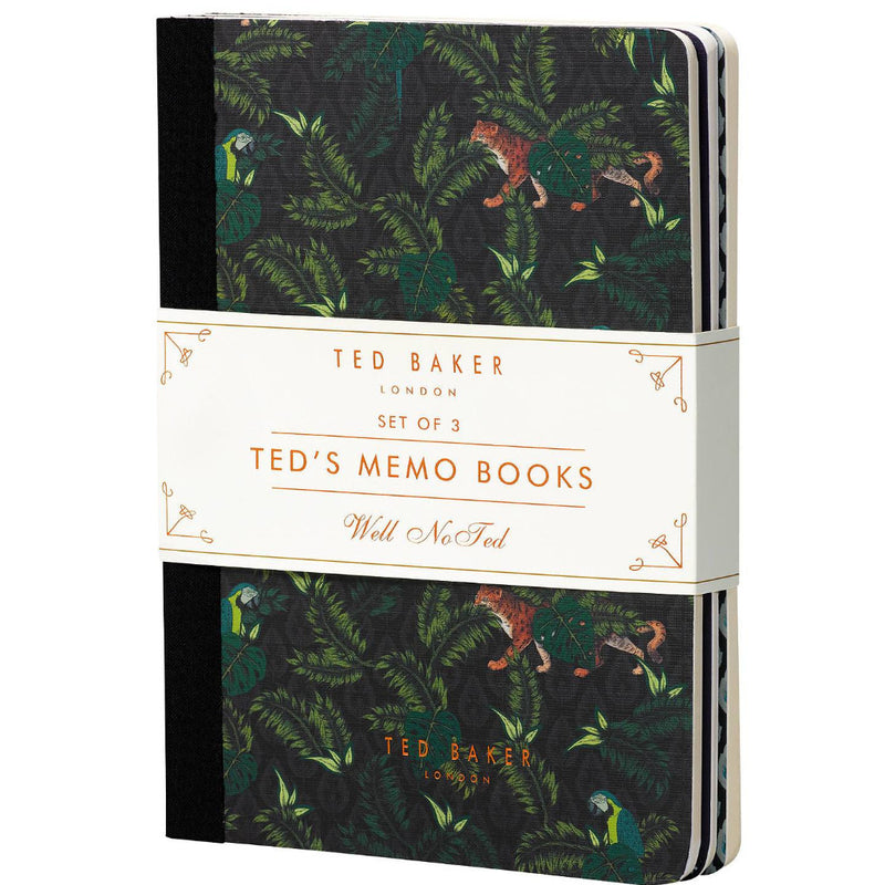 Memo Books Set of 3 | Gents