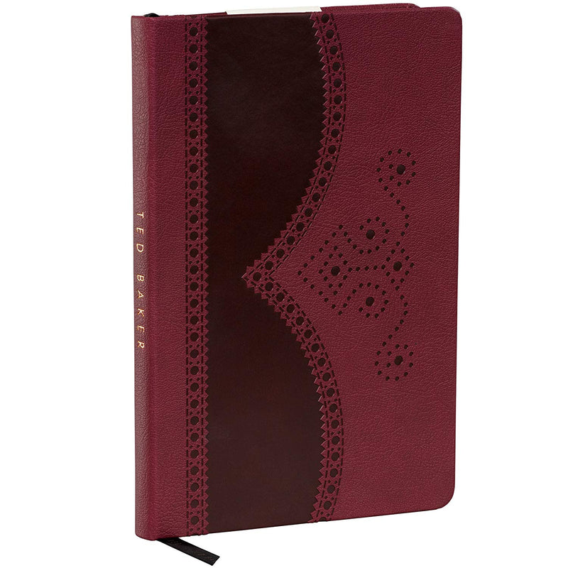 A5 Notebook | Textured Oxblood (197173641227)