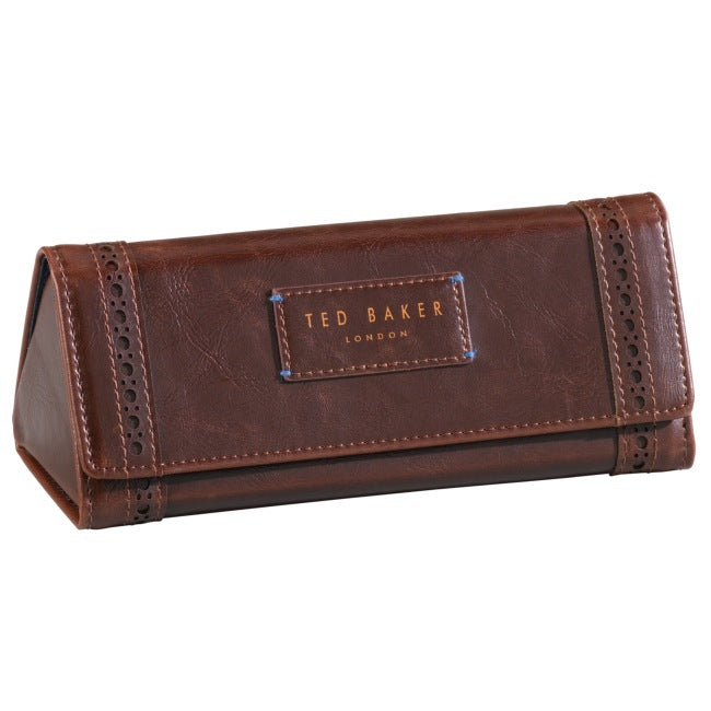 Glasses Case | Walnut Brown Brogue (197173116939)
