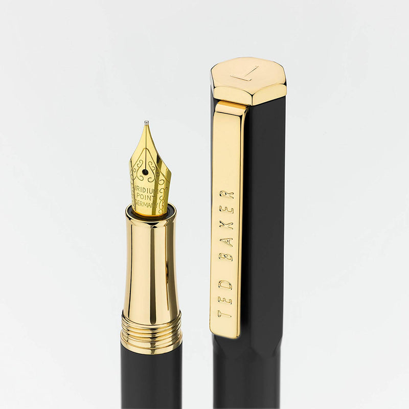 Premium Fountain Pen | Black Onyx