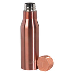 Water Bottle Hexagonal Lid | Rose Gold (487740997643)
