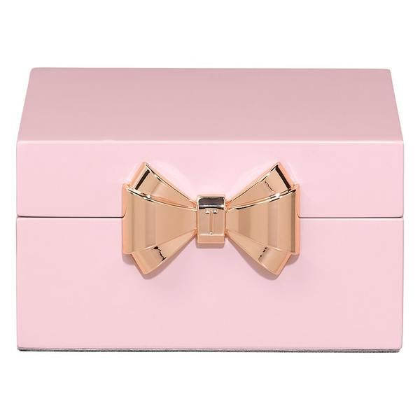 Lacquer Jewellery Box Small | Pink