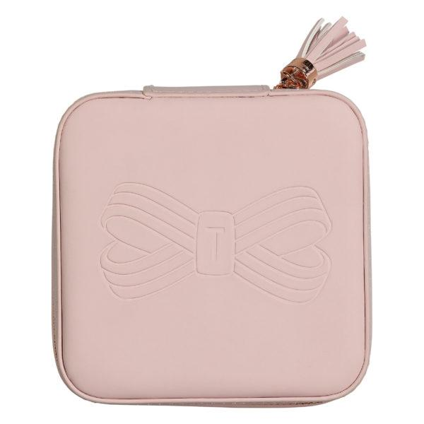 Zipped Jewellery Case | Pink
