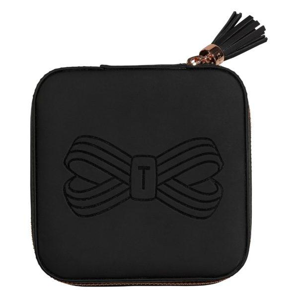 Zipped Jewellery Case | Black