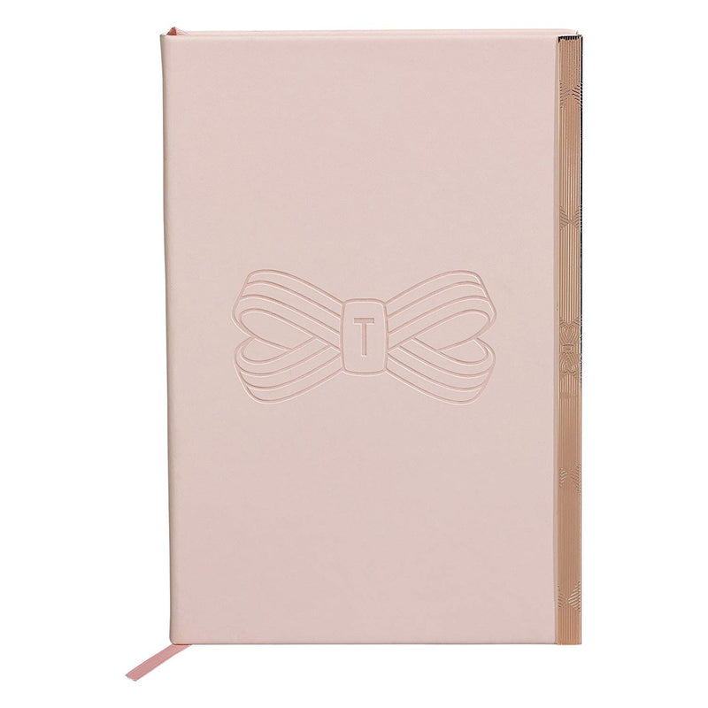 A5 Soft Touch Notebook | Pink Bow (1613154746402)