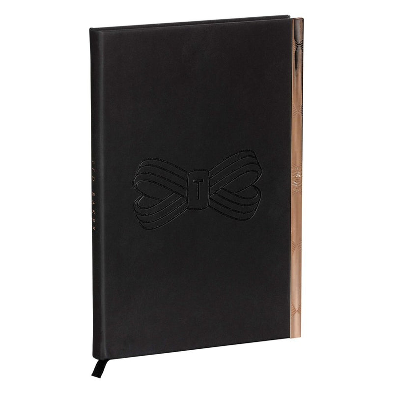 A5 Soft Touch Notebook | Black Bow (1613155434530)