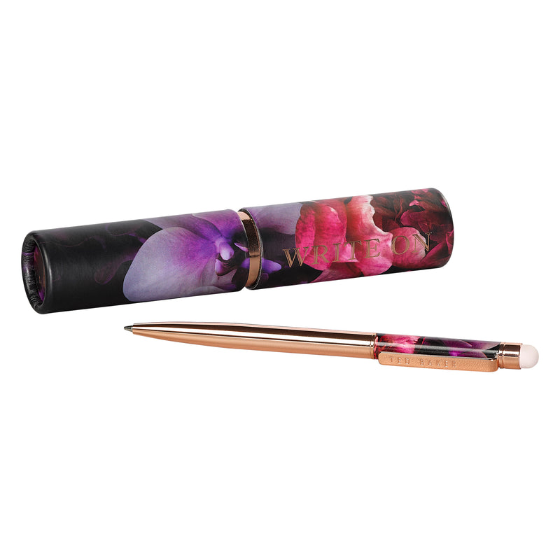 Touchscreen Pen In Tube | Black Splendour