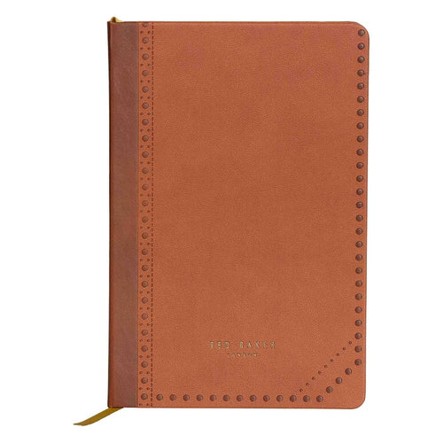 A5 Notebook | Brown Brogue Kiku (1613139542050)