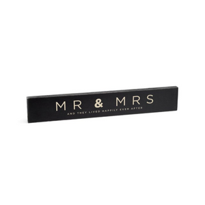 Rough Signs | Mr & Mrs