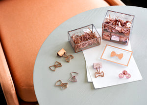 Bow Shaped Binder Clips