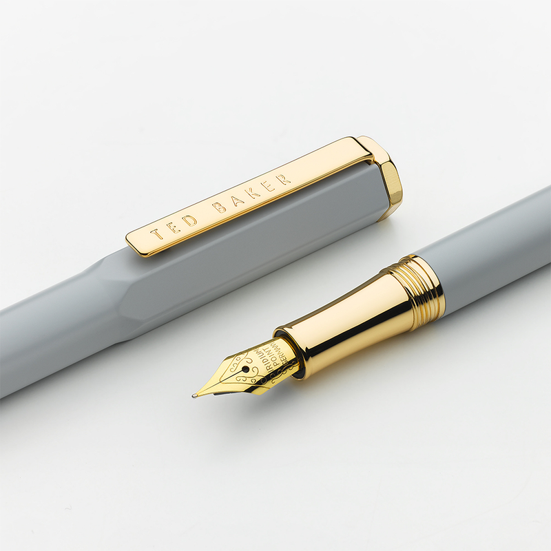 Premium Fountain Pen | Grey Spinel