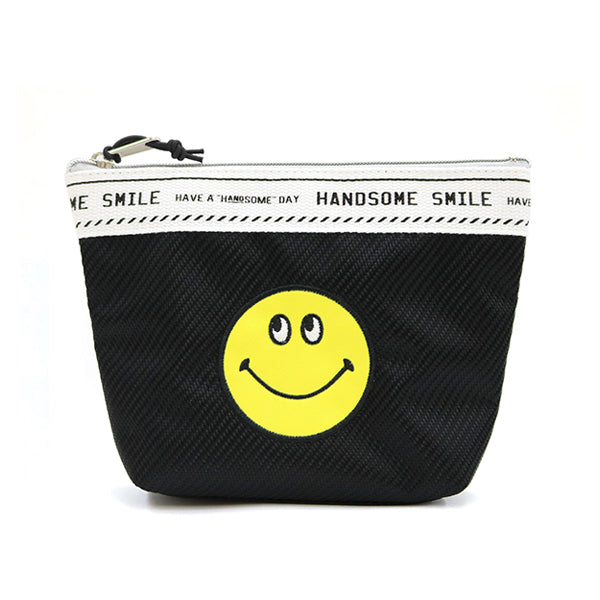 Smiley | Lined Pouch | Black (1794355724322)