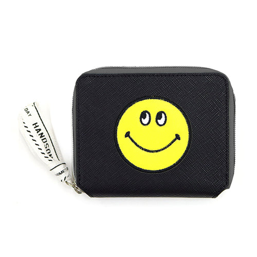 Smiley | Lined Wallet | Black (1794361163810)