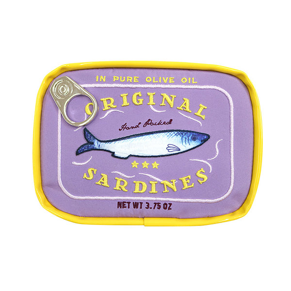 Sardines Can Pouch Retro | Purple