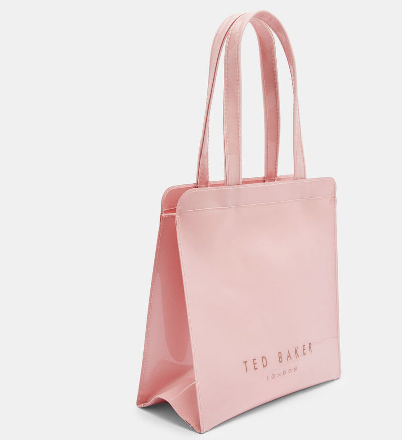 Bow Detail Small Icon Bag | Pink (1850716651554)