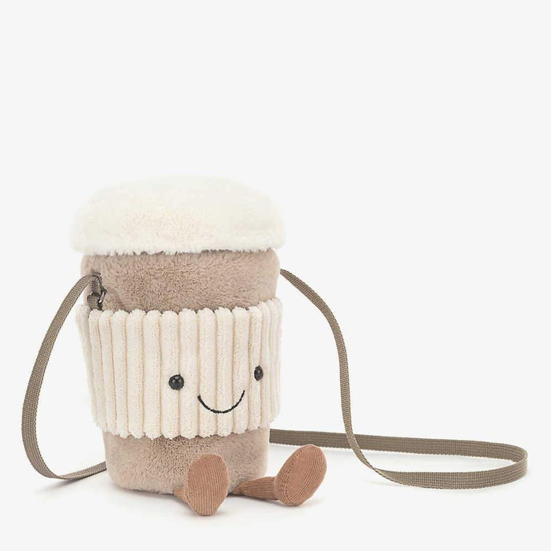 Jellycat Amuseables | Coffee-To-Go Bag | 15cm | 正價