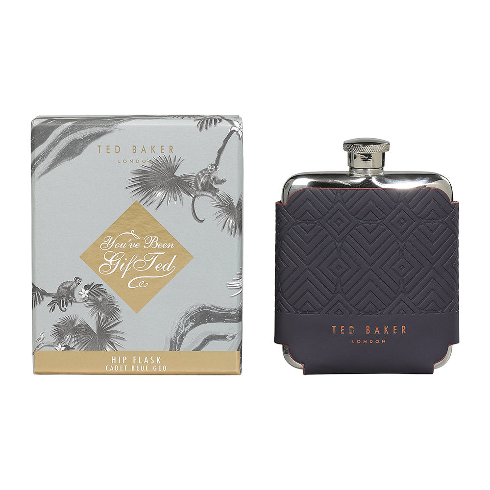 Hip Flask | Blue Cadet