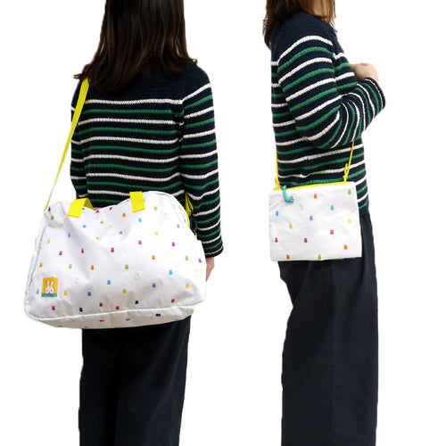 Miffy | Bag | Packable Boston Bag (4502430711882)