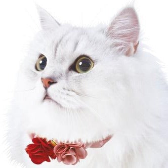 Pet Wear | Cat Collar | Scrunchy Flower | Pink | 正價
